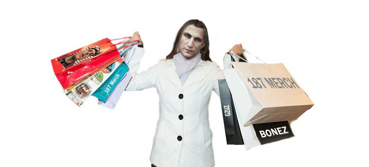 187 Shop Klamotten Der 187 Strassenbande Gzuz Bonez